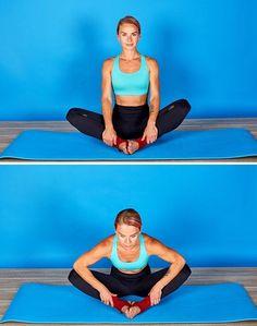 Ces 6exercices t'aideront àpouvoir réaliser rapidement cegrand écart dont tuasrêvé toute tavie Vinyasa Yoga, Yoga 1, Work Out Routines Gym, Gym Routine, Yoga Fitness, Fitness Tips, Health Fitness, Claude Van Damme, Weekly Workout Plans