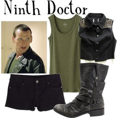 """Ninth Doctor"" by companionclothes on Polyvore"