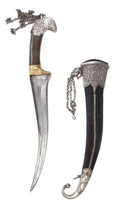 Pesh Qabz Dagger.      Dated: mid-19th century.     Culture: North Indian.  Auction Imperial