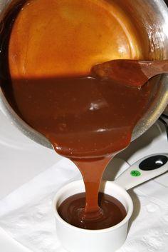 3 Ingredient Caramel Sauce (water/sugar/heavy cream)