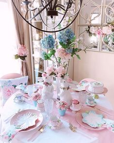 ..#TableScapes #EasterDecor #SpringDecorating #Centerpieces #Placesetting #Tablescape #SpringDecor #FloralDesigner #TheDesignTwinsLoveSpring #PastelLove #setthetable #housebeautifulhome #FlowersOfTheDay #pinklover #kitchendecoration #inspire_me_home_decor #TheCottageJournal #BHGHowIHoliday #CottagesAndBungalows #MySouthernLiving #BeautifulHome #CountryLivingMag #ShabbyChicStyle #MyCountryHome #CottageStyle #FarmhouseChic #decorglamsquad #styledtablesaturday #swoonworthysaturday Spring Is Here, Spring Home, Brunch Table, Cottages And Bungalows, Inspire Me Home Decor, Centerpieces, Table Decorations, Welcome Spring, Farmhouse Chic