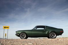 Limited edition Steve McQueen Mustang