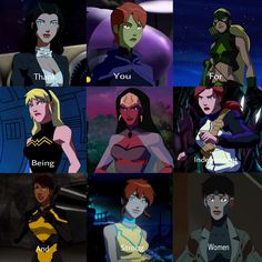 Women of Young Justice