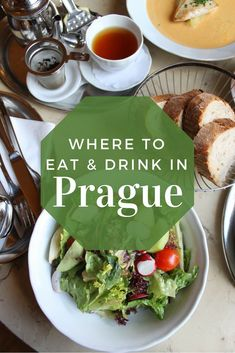 Traveling to Prague and trying to figure out the best places to eat and drink? Look no further! This guide will show you where to eat in Prague: from classic Czech fare to something healthy and vegetarian, this list has something for everyone. // www.littlechefbigappetite.com // Prague Travel, Prague itinerary, Prague restaurants, What to do in Prague, Czech Travel, Czech food
