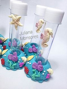 Little Mermaid Parties The Little Mermaid Mermaid Birthday Girl Birthday Decorated Jars Pasta Flexible Clay Crafts Under The Sea Biscuits Mermaid Birthday, Girl Birthday, Birthday Parties, Little Mermaid Parties, Ariel The Little Mermaid, Jar Design, Under The Sea Party, Decorated Jars, Polymer Clay Crafts