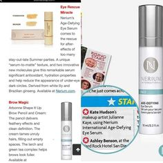 Nerium Eye Serum. ... yes, we're in Hollywood!  www.Kimberlybeth.nerium.com Nerium, Eye Serum, Late Summer, Bronzer, In Hollywood, Foundation, Skin Care, Eyes, Skincare Routine