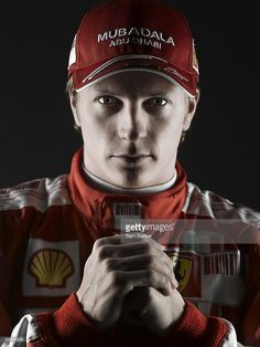 Racing driver Kimi Raikkonen poses for a portrait shoot for Racing magazine in London on February Hot Men, Hot Guys, Sports Celebrities, Formula 1 Car, February 15, F1 Drivers, Bmw E30, First Art, F1 Racing