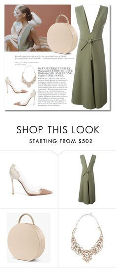 """""""Clean lines"""" by buwood ❤ liked on Polyvore featuring Gianvito Rossi, Lemaire, BUwood, Bela and Valentino"""