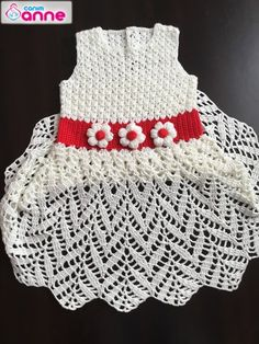 Crochet Toddler, Crochet Baby Clothes, Crochet For Kids, Crochet Doll Dress, Knit Crochet, Baby Knitting Patterns, Crochet Patterns, Handmade Baby, Toddler Dress