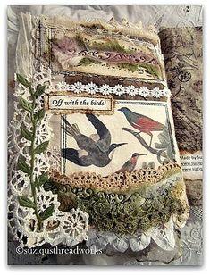 """""""Birds Inspire"""" Lacebook by suziqu, via Flickr"""