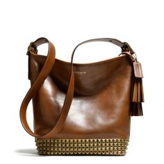 The Legacy Archival Duffle In Studded Leather from Coach - you will be mine, my pretty.  Someday....