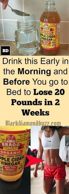 Do you want to cleanse your body for weight loss? Apple cider vinegar Easy Detox cleanse Drink - Drink this early in the morning and before going to bed at night to lose 20 pounds in 2 weeks . Try this healthy recipes now.