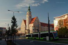Olsztyn, Nowy Ratusz http://www.kochamywarmie.pl/2017/10/olsztyn-i-troche-historii-3-dwa-ratusze.html