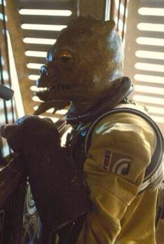 Bossk on Jabba's Sailbarge