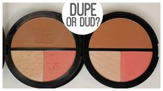 Dupe or dud: IT Cosmetics Vitality Face Disk vs. Crown Brush Blush, Bron...
