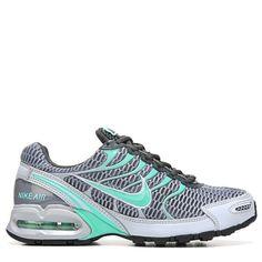 Nike Women's Air Max Torch 4 Running Shoes (Grey/Grn Glow/Anthro) - 6.0 M
