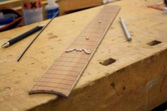 how to make a fretboard - Google Search