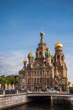 Church of the Saviour on Spillied Blood #Russia #St Petersburg