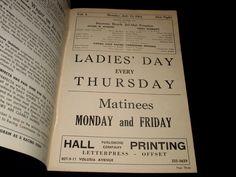JAI ALAI-WORLD'S FINEST FRONTON-DAYTONA BEACH, FL-ORIGINAL 1964 PROGRAM | eBay
