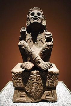 Xochipilli (Prince of Flowers), Aztec god of love, beauty, dancing and music