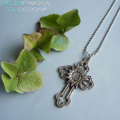 Helmipaikka Oy - Joka päivä on korupäivä - Helmipaikka. Crosses, Silver, Jewelry, Jewlery, Jewerly, Schmuck, Jewels, Jewelery, Fine Jewelry