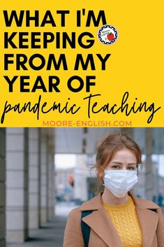 Pandemic teaching is Zoom fatigue, desk dividers, and telling students to pull up their masks twenty thousand times a day. These are things I hope to leave behind at the end of this year. Undoubtedly, you also have a list of things, chores, practices, and fears you're hoping to leave behind after this year of pandemic teaching. However, to my genuine surprise, there are some pieces and practices I'm keeping from my year of pandemic teaching. This includes grading policies, work-life balance… Differentiated Instruction, Instructional Strategies, Student Teaching, Teaching Tips, Desk Dividers, Teacher Blogs, Work Life Balance, Masks, Students