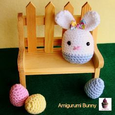amiguria amigurumi: Free Pattern Bunny and Eggs