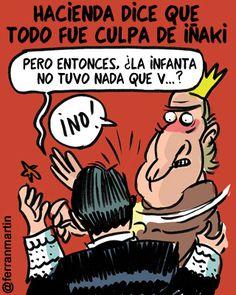 Infanta exonerada