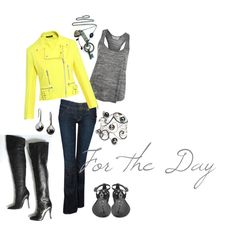 Yellow Day, created by hayleejade3 on Polyvore