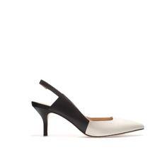 SLING BACK KITTEN HEEL SHOE - Shoes - Woman - ZARA United Statessling back heels