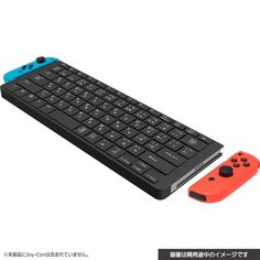 Cyber Gadget has announced a new keyboard designed for Nintendo Switch, has two dedicated slots to attach to the Joy-Cons. Cyber Gadget Keyboard for joy con Nintendo Switch Accessories, Computer Accessories, Dragon Quest, Pokemon, Cube Photo, Treasure Maps For Kids, Nintendo Switch Games, Game Controller, Video Game Console