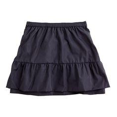 Girls' taffeta prance skirt crewcuts aug2012