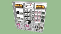 Closet 01 - Lado 1 - 3D Warehouse