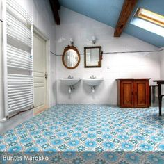 Beckenrandfliesen ideen rund ums haus pinterest - Badezimmer marokkanisch ...