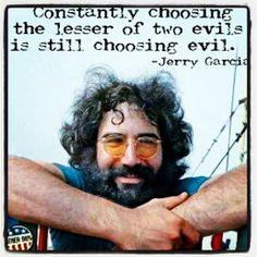 Still choosing evil