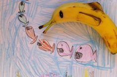 Edible Art - Banana Dolphin