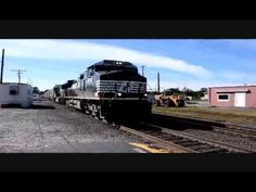 Norfolk Southern Autorack and Intermodal Stack Train at Ayer Ma