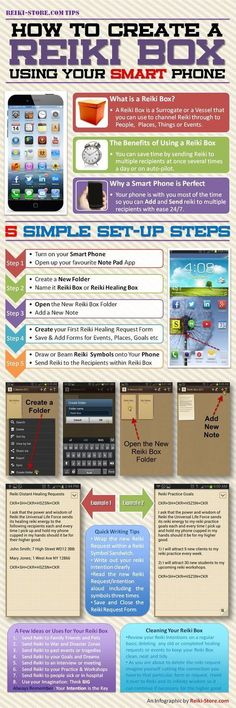How To Create A Digital Reiki Box - The Reiki Store... Interesting. Sacrilegious maybe but hmmm