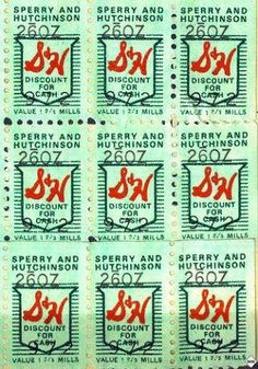 S & H Green Stamps: How we furnished our new home!