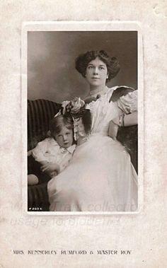 Clara Butt & son Roy - 1909