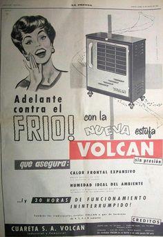 Volcan Estufa 1958-05-25.......las chicas de la VOLCÁN .....