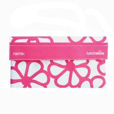 Amazon.com: Reusable Cloth Snack Bag - Navy Blue Stripe: Kitchen & Dining