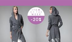 CodeTricot | Item of the week - open front cashmere cardigan