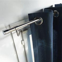 tringles sans per age pour fen tre pvc fixez vos rideaux facilement sans abimer le support. Black Bedroom Furniture Sets. Home Design Ideas