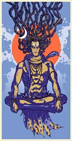 meditating Shiv