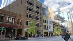 Downtown Restaurant Boom: Permits Spotted for Café Izmir, Mudsmith, The Londoner Pub, and Southpaw's Organic Grill |  Southpaw's Organic Grill,  going in Mid-Elm Lofts building in downtown Dallas.
