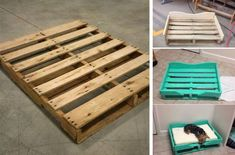 if you wish to get more all these wonderful ideas regarding Outstanding Wood Dog Bed Furniture simply click decoration. Wood Dog Bed, Pallet Dog Beds, Diy Dog Bed, Diy Bed, Diy Pallet, Pallet Wood, Dog Playground, Diy 2019, Dog House Plans