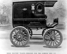 1900 Riker Electric Delivery Wagon  ...  =====>Information=====> https://de.pinterest.com/mikehansuld/electrics-before-thier-time/