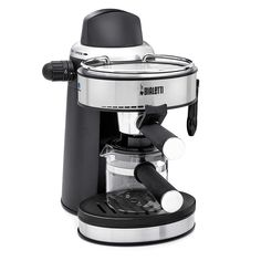 Steam Espresso Coffee Machine with Steam Wand for Frothing Milk for Cappuccinos and Lattes, Cup Warming Plate and 4 Cup Glass Carafe -- Check this awesome product by going to the link at the image.
