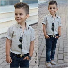 10 Photos for People Who Dressing Kids Like Adults in an Awesome Trend EveSteps Kids Hairstyles Boys, Cool Boys Haircuts, Baby Boy Hairstyles, Toddler Boy Haircuts, Little Boy Haircuts, Boy Haircuts Long, Little Boy Outfits, Baby Boy Outfits, Boy Fashion